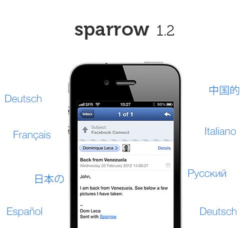 tumblr m409qhJCea1qbptnpo1 500 Sparrow para iPhone se actualiza pero sin notificaciones Push