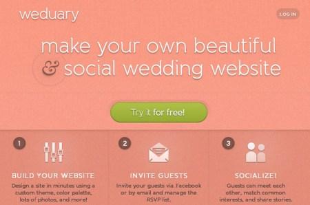 Crea la página web de tu boda con Weduary