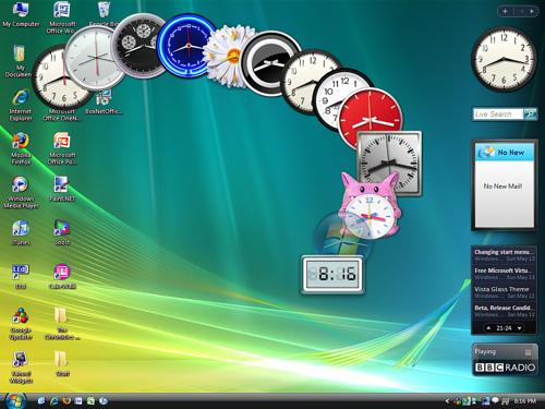 windows gadgets widgets Microsoft deja en el olvido a los Gadgets de Escritorio en Windows