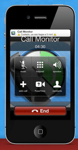 Captura de pantalla 2012 06 25 a las 16.41.31 Call+Data Time Monitor, una gran opción para controlar tu plan móvil (llamadas e internet)