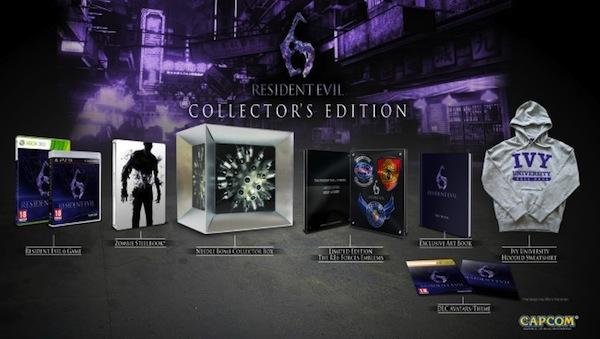 Capcom anuncia la edición de colección de Resident Evil 6