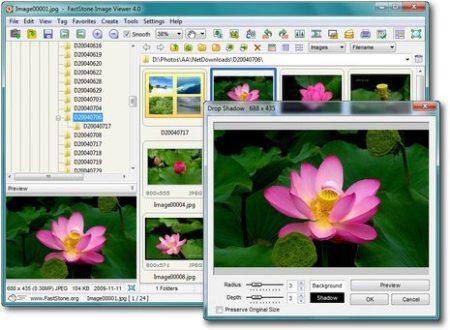 Fastone Image Viewer, limpio y ligero visor de fotos para Windows