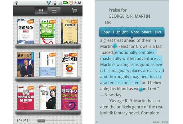 Go book android Go Book, otra interesante aplicación para leer ebooks en Android