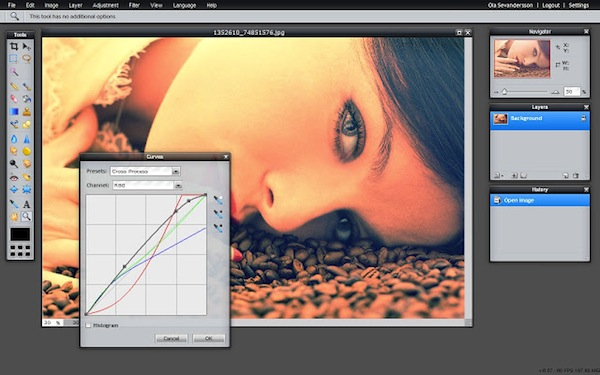 Pixl Editor, el genial editor de fotos online llega a Google Chrome en forma de extensión