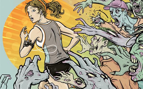 Zombies 2 Apps para hacer ejercicio con tu smartphone
