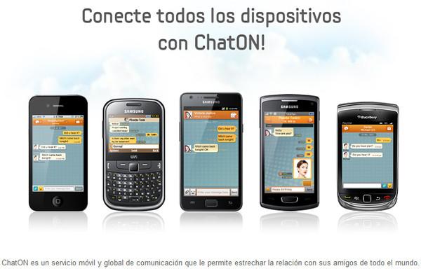 samsung chaton La app de mensajería Samsung ChatON ya está disponible para casi todas las plataformas móviles