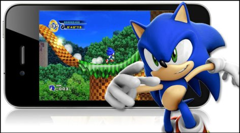 sonic iphone 590x329 Apps para iPhone en Descuento: Sonic The Hedgehog