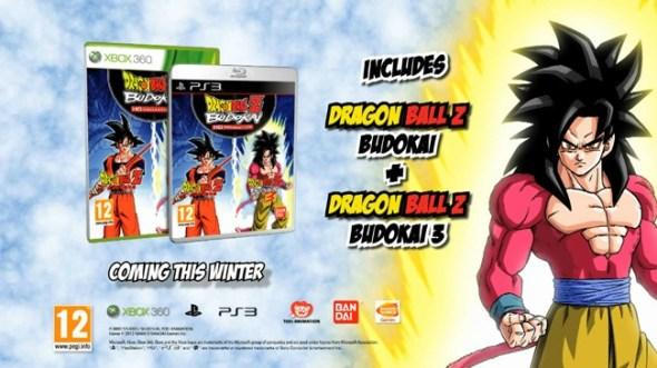 dragon ball z budokai 590x331 Dragon Ball Z Budokai HD Collection llegará a las consolas