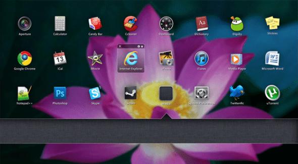 iShortcuts 590x325 Personaliza tu escritorio de Windows con estos skins de Rainmeter