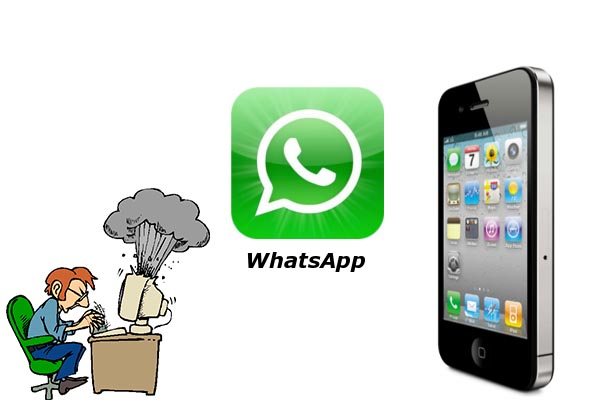 whatsapp iphone crash Nueva actualización de Whatsapp la deja prácticamente inservible