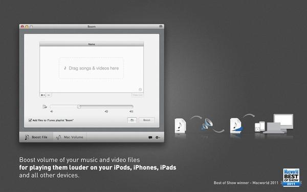 Boom Mac Aumenta el volumen de tu Mac con Boom