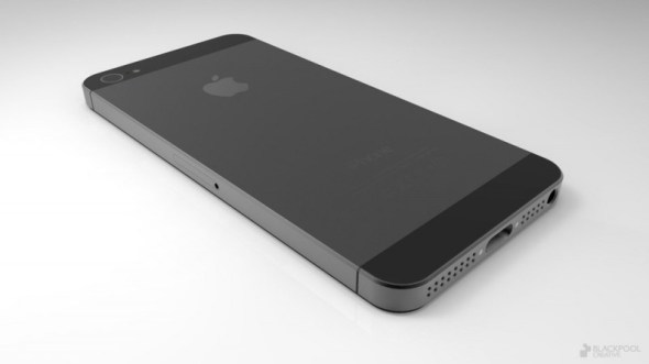 iphone 5 590x331 Todo lo que sabemos del supuesto nuevo iPhone 5 próximo a lanzarse este 12 de septiembre