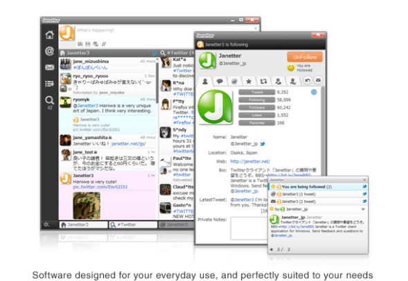 janetter twitter 590x406 Clientes de Twitter para escritorios Windows y Mac
