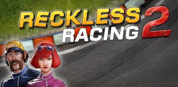 reckless racing 2 590x288 Reckless Racing 2, divertido juego de carreras con una perspectiva interesante