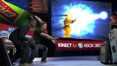 Así se jugará Dragon Ball Z Kinect