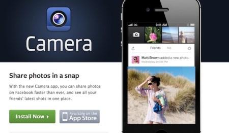 Facebook Camera para iOS disponible en México y otros países