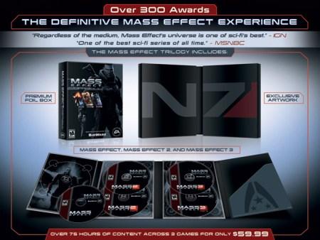 Electronic Arts anuncia la trilogía de Mass Effect por 59 dólares