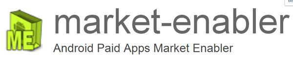 market enabler Descargar aplicaciones que no están disponibles en la Play Store de tu país con Market Enabler