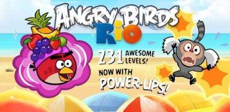 Angry Birds Rio para iPhone e iPad gratis por tiempo limitado
