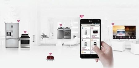 LG presentó su línea de electrodomésticos inteligentes durante el CES 2013
