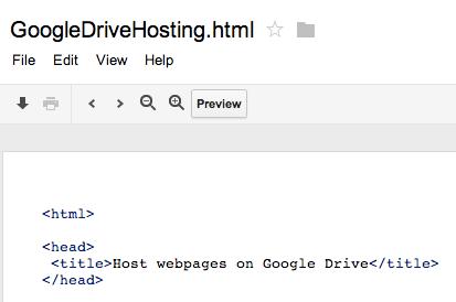 Google Drive puede alojar sitios web y nos muestra cómo hacerlo