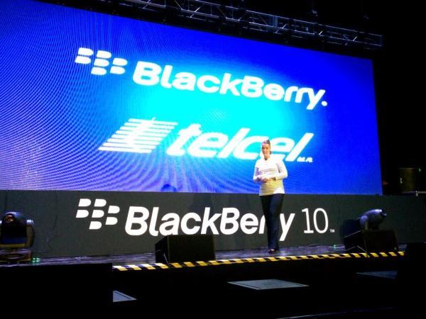 blackberry z10 telcel 600x450 Precios del BlackBerry Z10 en México con Telcel