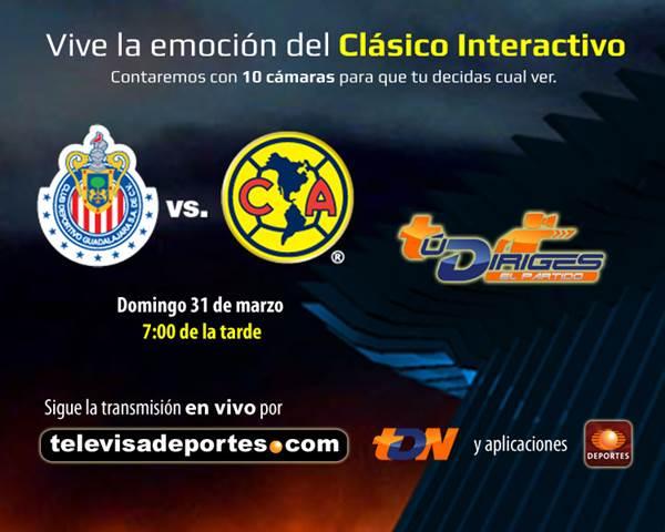 chivas america en vivo clausura 2013 Ver Chivas vs América en vivo por Televisa