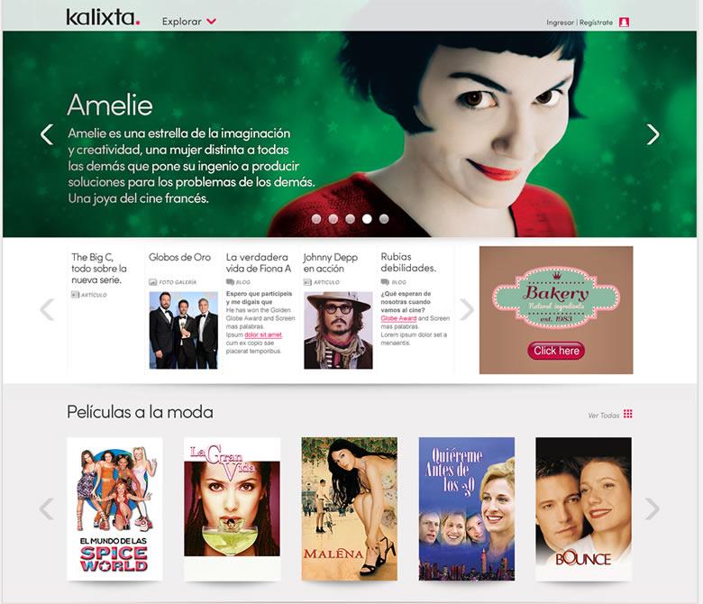 kalixta series tv gratis Películas online y series de TV gratis especialmente para mujeres en Kalixta