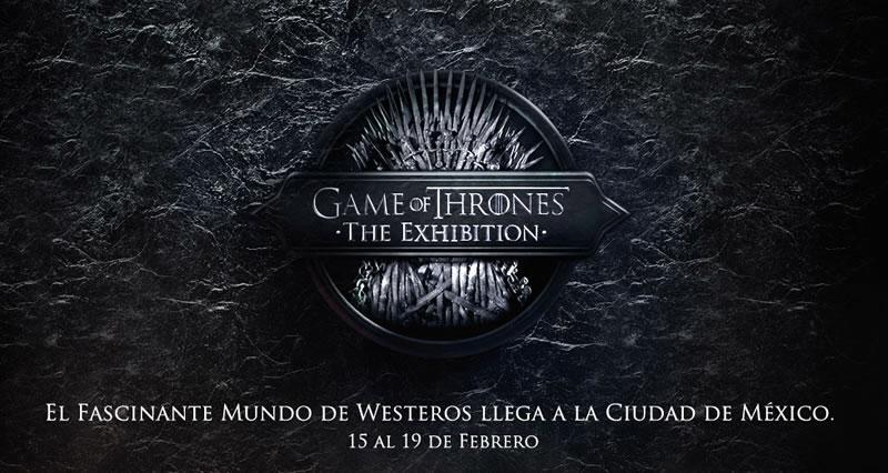 Game Of Thrones mexico Exhibición de Game of Thrones llega a México en Febrero