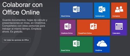Office Online es el nuevo nombre de la paquetería office de Microsoft en la web