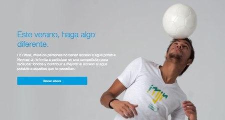 Neymar Jr y Paypal te invitan a competir por una buena causa