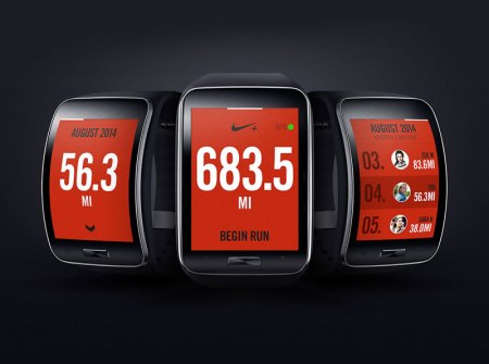 Nike+ Running se integra al Samsung Gear S