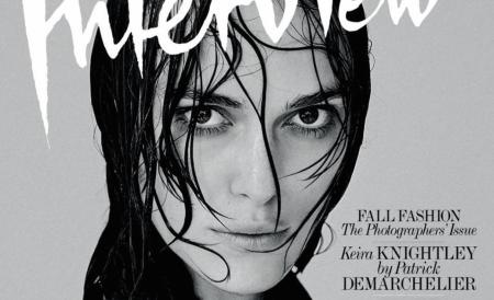 Keira Knightley posa en topless contra Photoshop