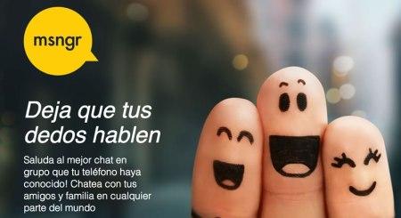 msngr ahora estará en operadoras de Telefónica en Latinoamérica