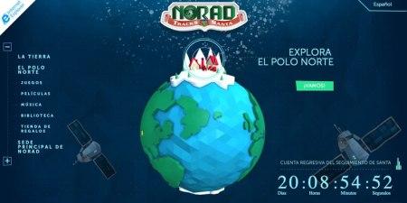 Sigue la ruta de Santa esta navidad con NORAD y Microsoft