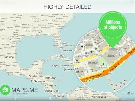 MAPS.ME, la app de mapas offline supera los 14 millones de instalaciones