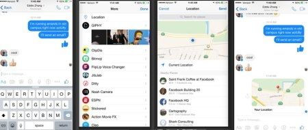 Compartir ubicación en Facebook Messenger ahora es más fácil y con más opciones