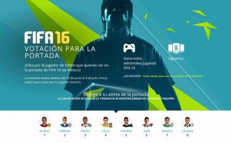 Ya puedes votar por la portada de FIFA 16 en México
