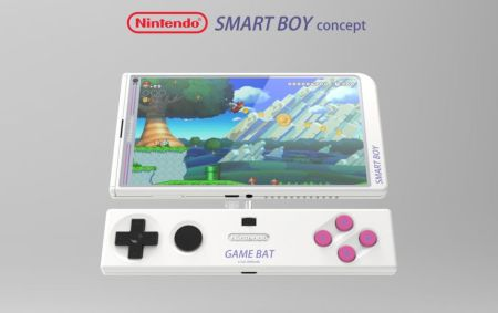 Diseñan un modelo de smartphone inspirado en Nintendo