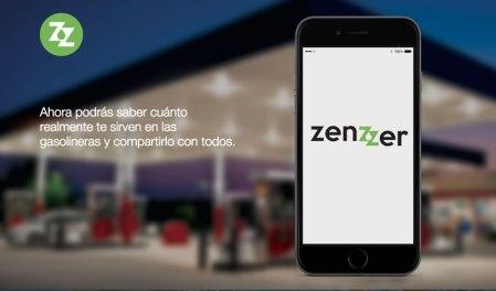 Zenzzer te dice cuando te sirven litros incompletos de gasolina