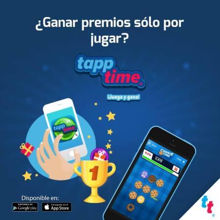 Conoce TappTime, la app que premia tu ocio