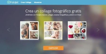 Fotojet, un sitio para crear collages, postales fotográficas y más ¡Gratis!