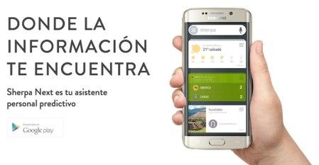 """Sherpa Next, el """"Siri"""" para Android llegó a México"""
