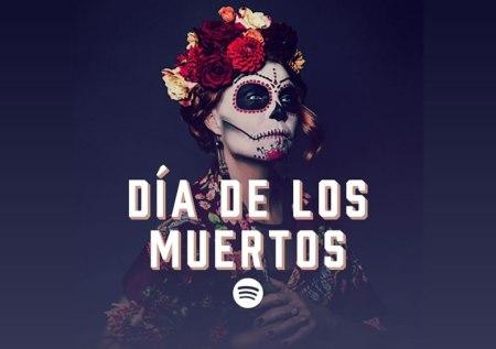 Música para celebrar el día de muertos con Spotify