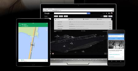 Google personaliza sus aplicaciones con Star Wars