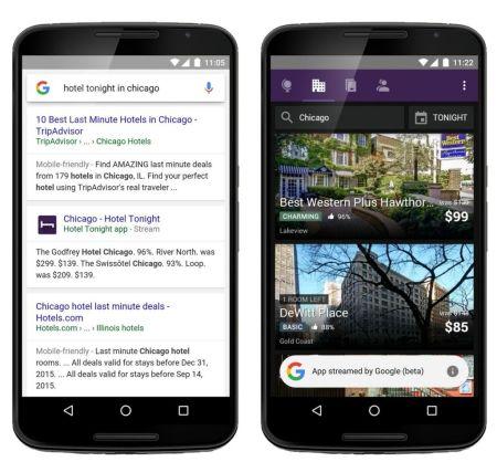 Google permite utilizar aplicaciones vía streaming