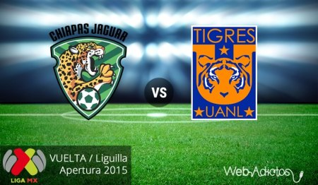Jaguares vs Tigres, vuelta de la liguilla del AP2015 ¡En vivo por internet!