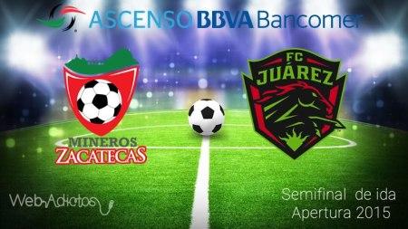 Mineros vs Juarez, Semifinal del Ascenso MX AP2015 ¡En vivo por internet!