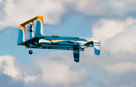 Amazon muestra su servicio Prime Air