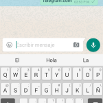 Whatsapp bloquea enlaces que dirigen a Telegram